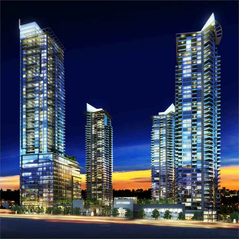 Solo District Condos at Lougheed Hwy & Willingdon Ave, Burnaby, British Columbia. Image 3