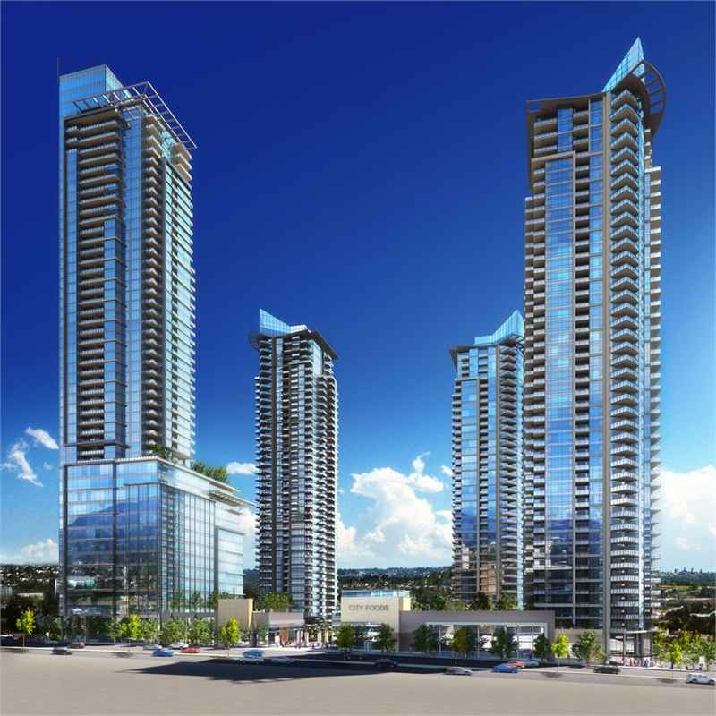 Solo District Condos at Lougheed Hwy & Willingdon Ave, Burnaby, British Columbia. Image 10