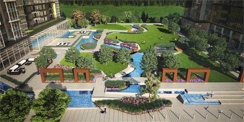 Concord Gardens at Garden City Rd, Richmond, British Columbia. Image 4