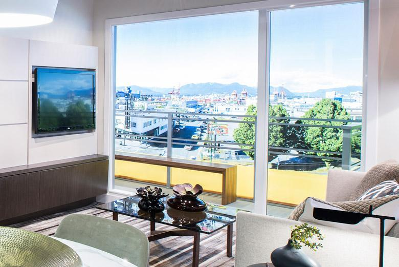 Boheme Condos at E Hastings St & Commercial Dr, Vancouver, British Columbia. Image 1