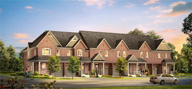 The Highlands Townhomes at 804 Shadrach Drive, Newmarket, Ontario. Image 1