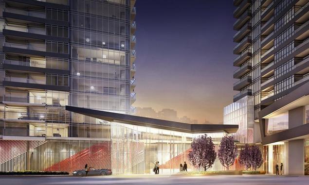 Newton Condos at Bathurst St & Lake Shore Blvd W, Toronto, Ontario. Image 8