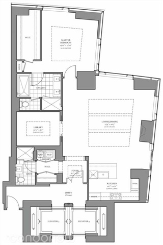 Condo Apartment at 325 Bay St, Unit 4703, Toronto, Ontario. Image 2