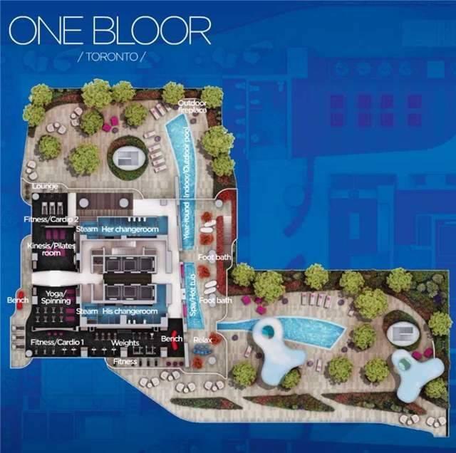 Condo Apartment at 1 Bloor St E, Unit 5609, Toronto, Ontario. Image 3