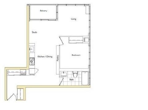 Condo Apartment at 10 Capreol Crt, Unit 1805, Toronto, Ontario. Image 2