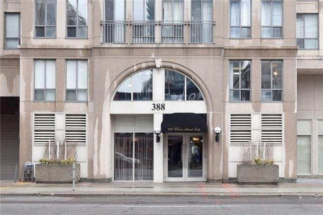 Condo Apartment at 388 Bloor St E, Unit 2002, Toronto, Ontario. Image 1