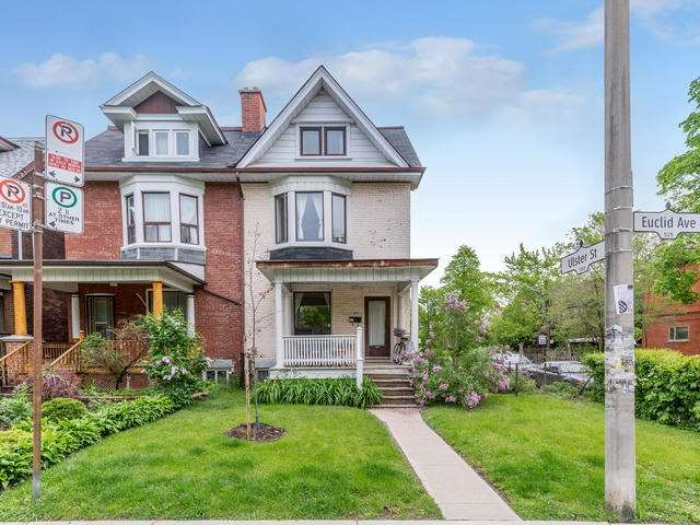 Semi-detached at 525 Euclid Ave, Toronto, Ontario. Image 1