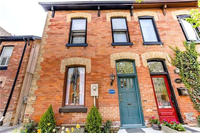 Townhouse at 497 Queen St E, Toronto, Ontario. Image 1
