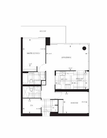 Condo Apartment at 5162 Yonge St, Unit 3603, Toronto, Ontario. Image 9