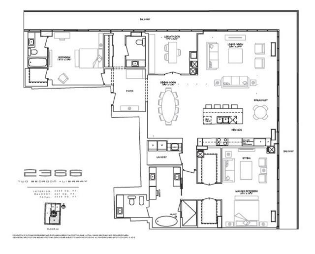 Condo Apartment at 200 Bloor St W, Unit 3202, Toronto, Ontario. Image 4