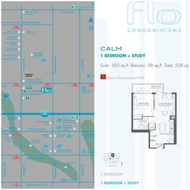 Condo Apartment at 28 Avondale Ave, Unit 601, Toronto, Ontario. Image 2