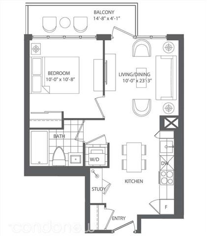 Condo Apartment at 28 Avondale Ave, Unit 601, Toronto, Ontario. Image 3