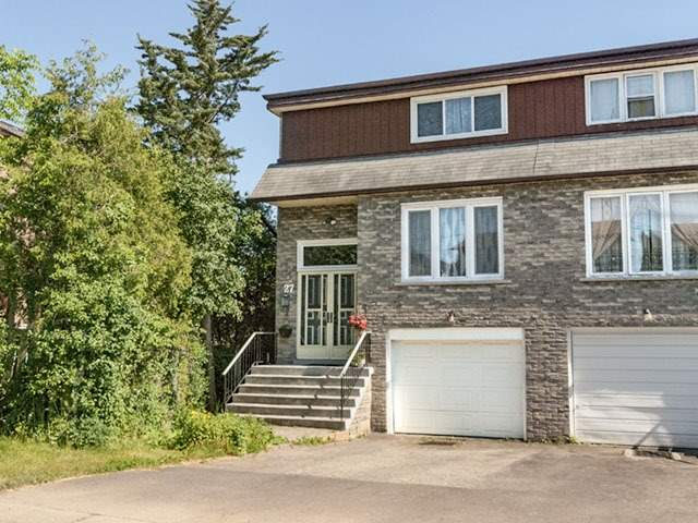 Semi-detached at 27 Henry Welsh Dr, Toronto, Ontario. Image 1
