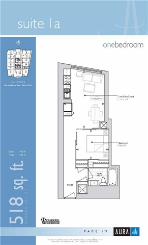 Condo Apartment at 386 Yonge St, Unit 5106, Toronto, Ontario. Image 2