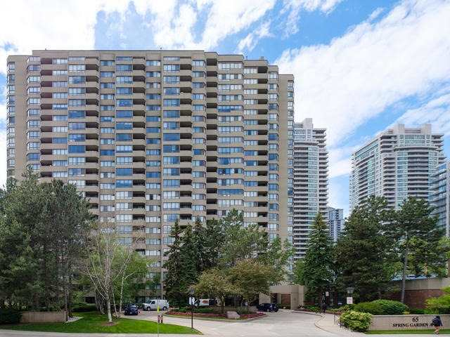 Condo Apartment at 65 Spring Garden Ave, Unit 706, Toronto, Ontario. Image 1
