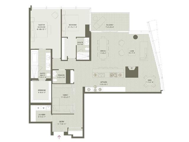 Condo Apartment at 180 University Ave, Unit 5804, Toronto, Ontario. Image 13