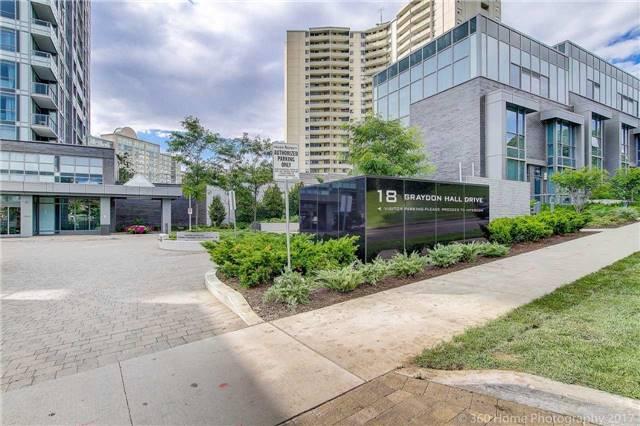 Condo Apartment at 18 Graydon Hall Dr, Unit 2401, Toronto, Ontario. Image 12