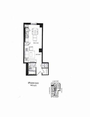 Condo Apartment at 5 St Joseph St, Unit 214, Toronto, Ontario. Image 3
