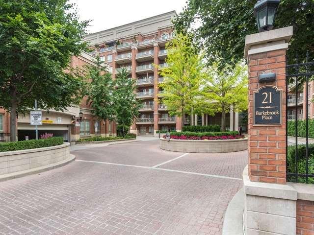 Condo Apartment at 21 Burkebrook Pl, Unit 408, Toronto, Ontario. Image 1