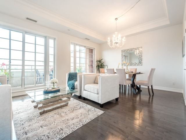 Condo Apartment at 21 Burkebrook Pl, Unit 408, Toronto, Ontario. Image 19