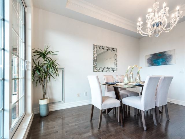 Condo Apartment at 21 Burkebrook Pl, Unit 408, Toronto, Ontario. Image 2