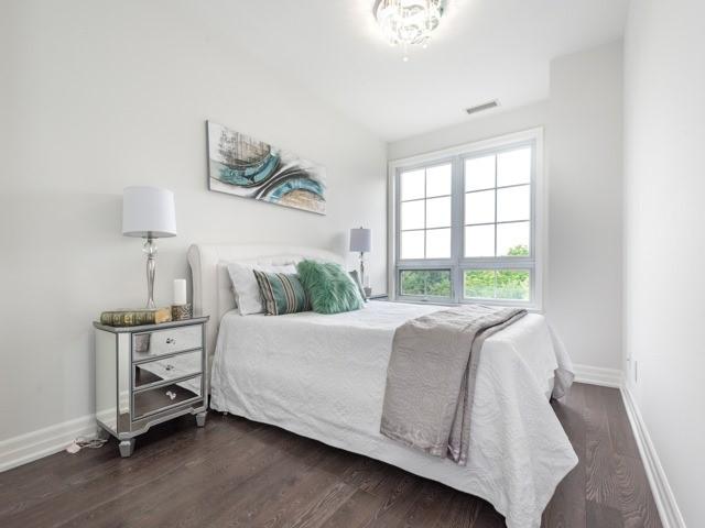 Condo Apartment at 21 Burkebrook Pl, Unit 408, Toronto, Ontario. Image 4