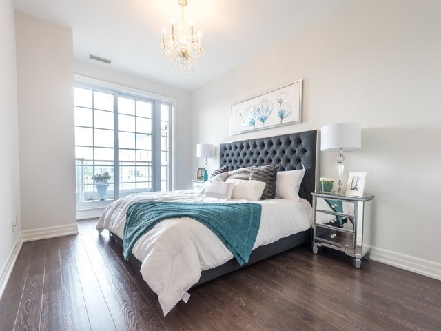 Condo Apartment at 21 Burkebrook Pl, Unit 408, Toronto, Ontario. Image 5
