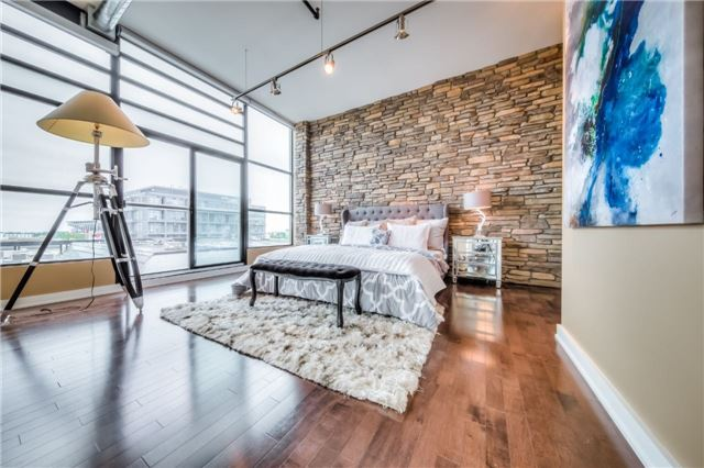 Condo Apartment at 43 Hanna Ave, Unit 511, Toronto, Ontario. Image 3