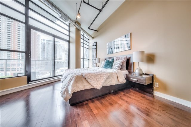 Condo Apartment at 43 Hanna Ave, Unit 511, Toronto, Ontario. Image 7