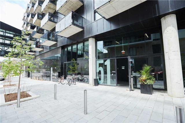 Condo Apartment at 51 Trolley Cres, Unit 718, Toronto, Ontario. Image 1