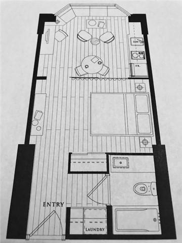 Condo Apartment at 155 Yorkville Ave, Unit 511, Toronto, Ontario. Image 4
