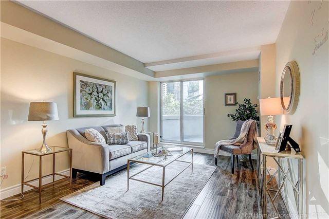 Condo Apartment at 188 Doris Ave, Unit 218, Toronto, Ontario. Image 2