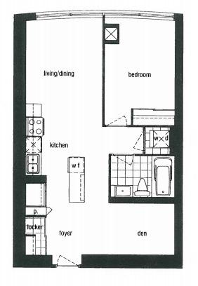 Condo Apartment at 388 Yonge St, Unit 7004, Toronto, Ontario. Image 8