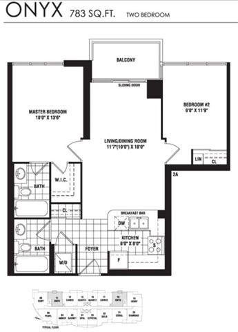 Condo Apartment at 35 Hollywood Ave, Unit 818, Toronto, Ontario. Image 9