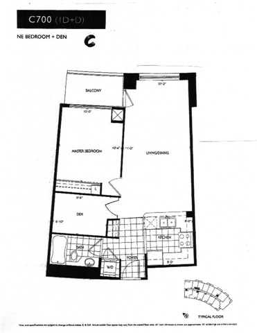 Condo Apartment at 503 Beecroft Rd, Unit 106, Toronto, Ontario. Image 10