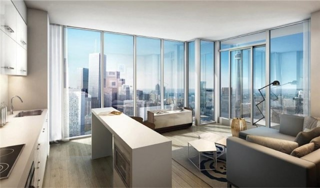 Condo Apartment at 426 University Ave, Unit 2508, Toronto, Ontario. Image 2