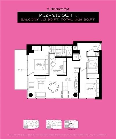 Condo Apartment at 8 Mercer St, Unit 1908, Toronto, Ontario. Image 2