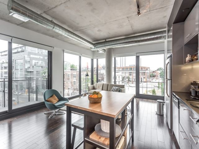 Condo With Common Elements at 51 Trolley Cres, Unit 317, Toronto, Ontario. Image 4