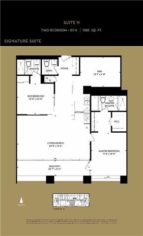 Condo Apartment at 111 St Clair Ave W, Unit 1513, Toronto, Ontario. Image 4