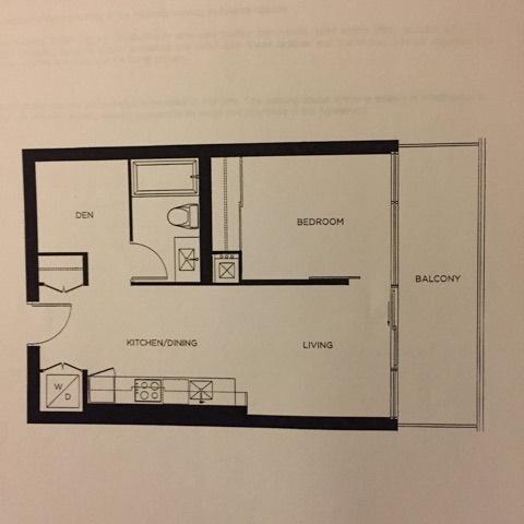 Condo Apartment at 290 Adelaide St W, Unit 2908, Toronto, Ontario. Image 2