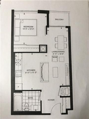 Condo Apartment at 435 Richmond St W, Unit 312, Toronto, Ontario. Image 8