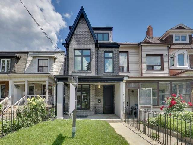 Semi-detached at 667 Crawford St, Toronto, Ontario. Image 1