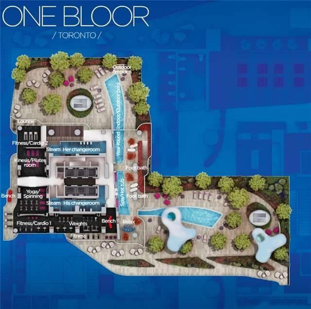Condo Apartment at 1 Bloor St, Unit 6906, Toronto, Ontario. Image 3