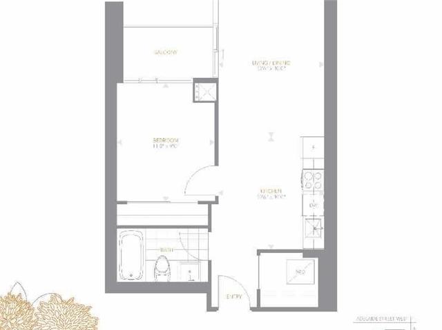 Condo Apartment at 295 Adelaide St W, Unit 4103, Toronto, Ontario. Image 20