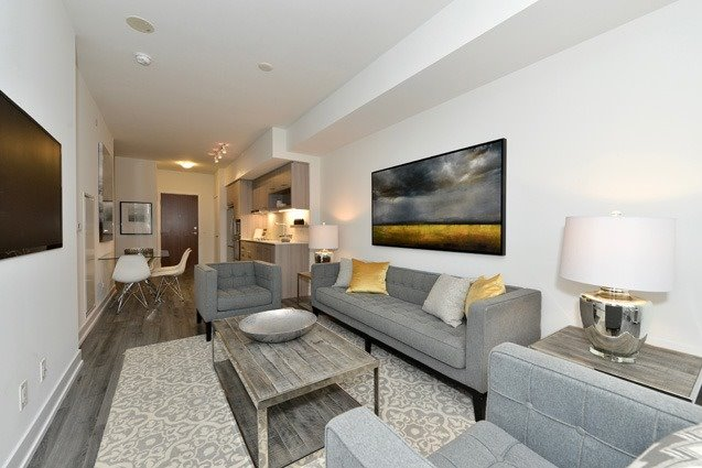 Condo Apartment at 170 Chiltern Hill Rd, Unit 410, Toronto, Ontario. Image 3
