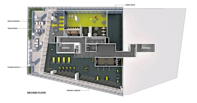 Condo Apartment at 10 Lawren Harris Sq, Unit 1008, Toronto, Ontario. Image 5