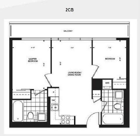 Condo Apartment at 36 Lisgar St, Unit 1615, Toronto, Ontario. Image 2