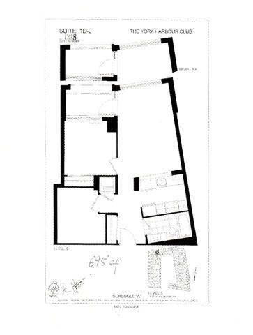 Condo Apartment at 35 Bastion St, Unit 819, Toronto, Ontario. Image 10