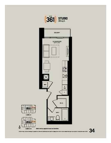 Condo Apartment at 70 Temperance St, Unit 1204, Toronto, Ontario. Image 9