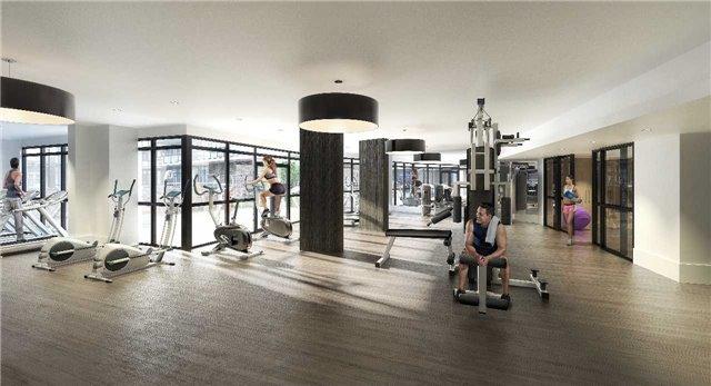 Condo Apartment at 65 Grand Magazine St, Unit 812, Toronto, Ontario. Image 4